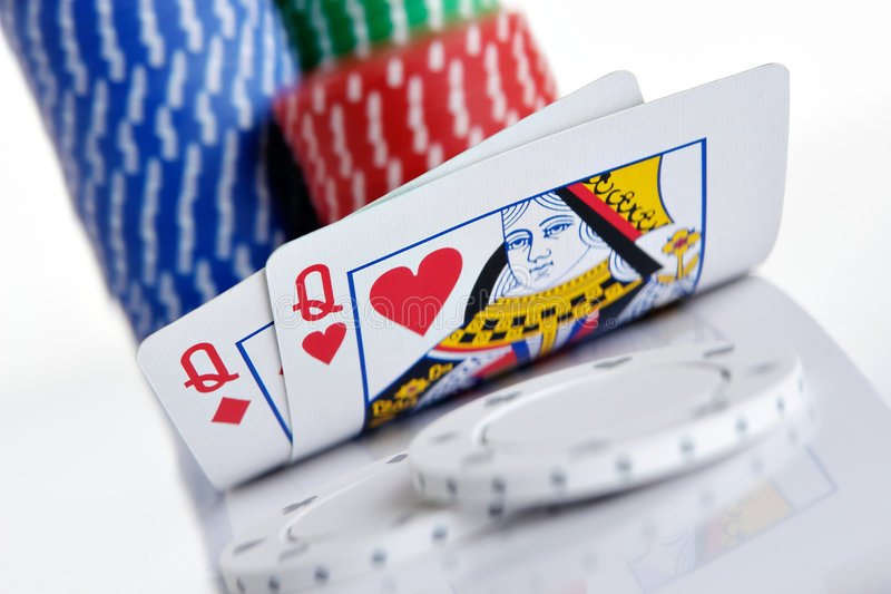 Download Queens stock photo. Image of holdem, risk, chance, pair - 2100704