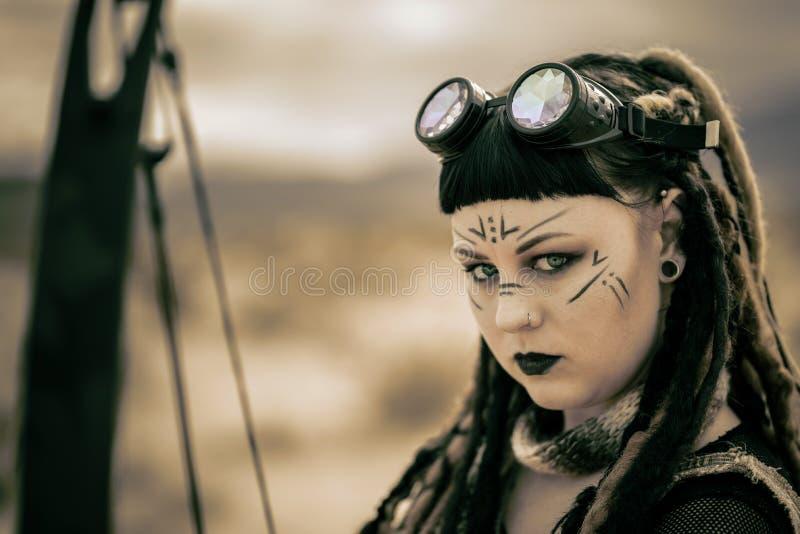 Queens av apokalypens; Stammen royaltyfri bild