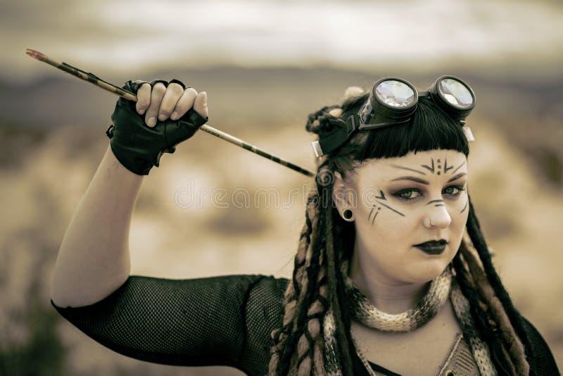 Queens av apokalypens; Stammen royaltyfri foto