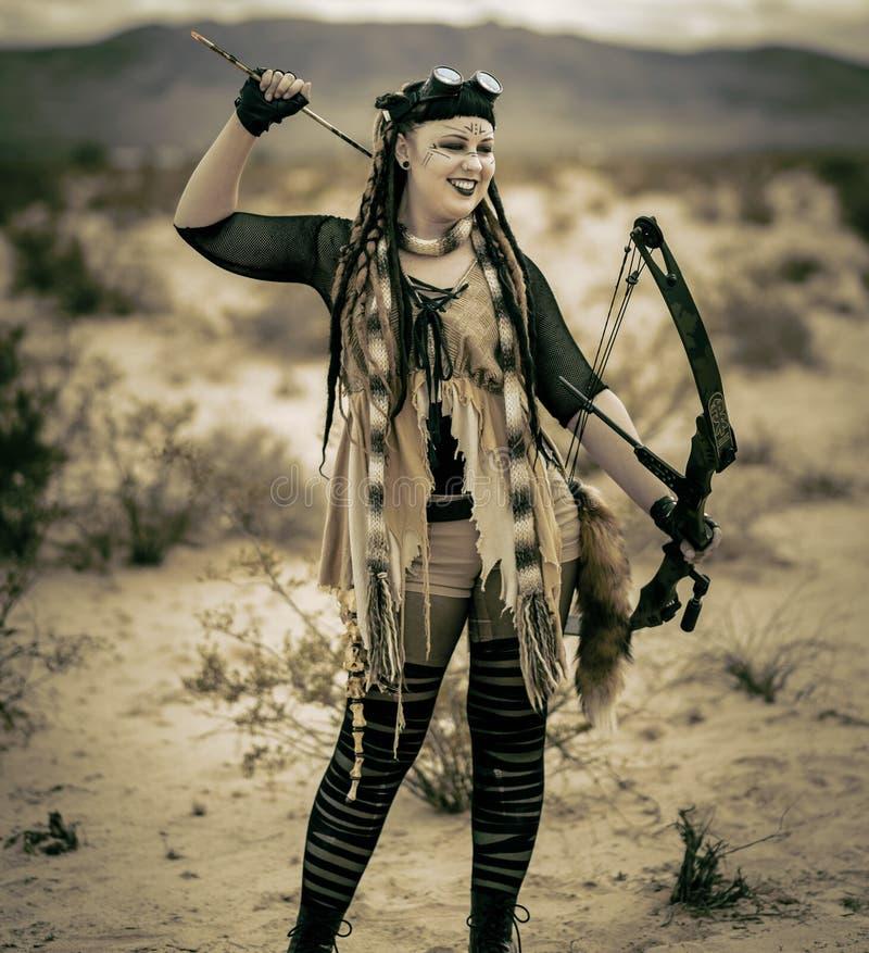 Queens av apokalypens; Stammen arkivfoton