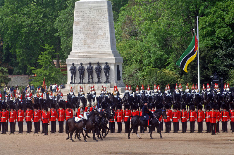 Download The Queens Birthday Parade. Editorial Stock Image - Image: 23354719