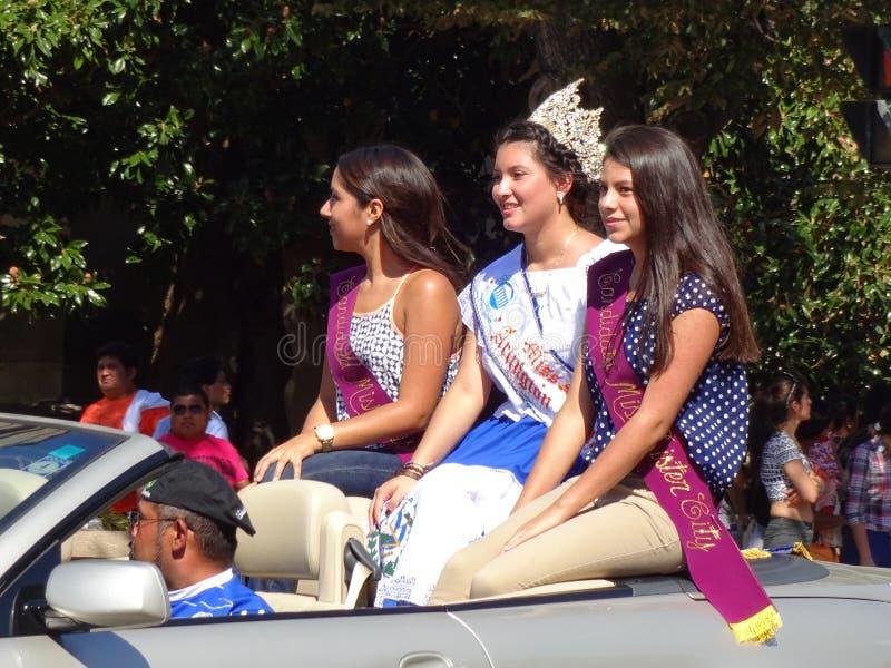 Queens de belleza de Latina imagen de archivo libre de regalías