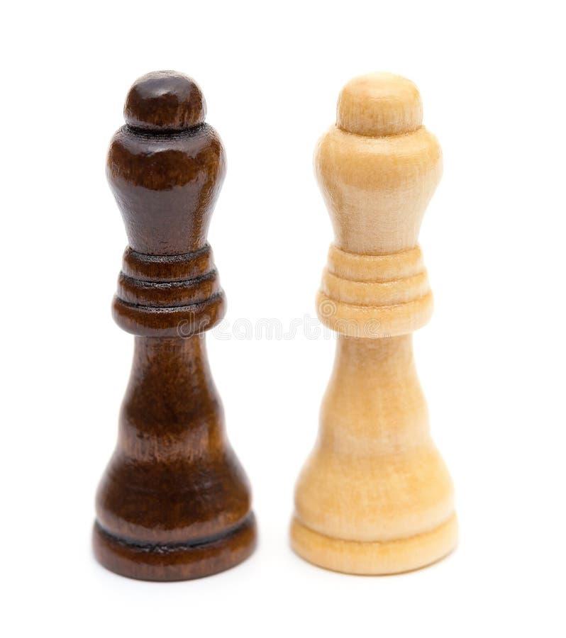 Queens di scacchi fotografia stock libera da diritti