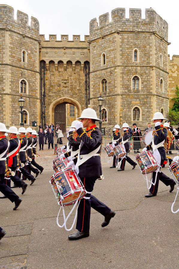 Download Queens Diamond Jubilee Great Parade Editorial Stock Photo - Image of teamwork, marines: 25479703
