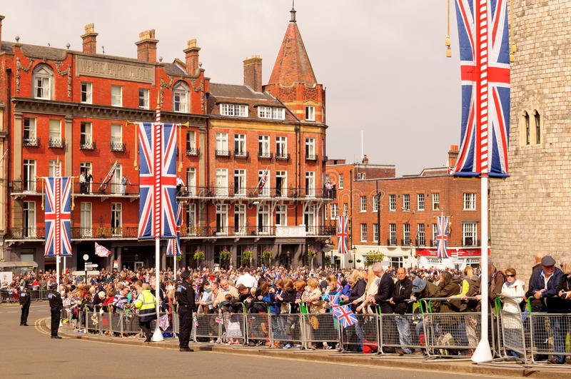 Queens Diamond Jubilee Great Parade Editorial Photo