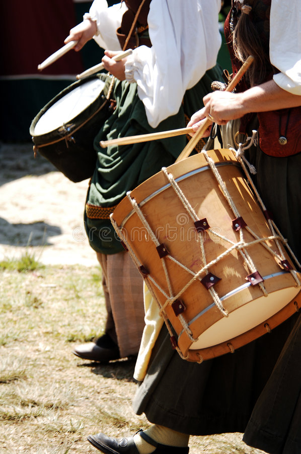 Queens Drums royalty free stock photography