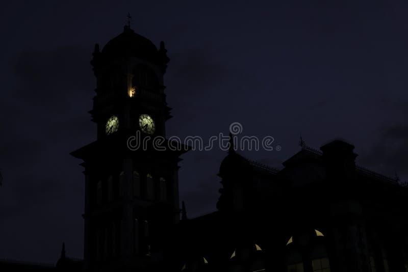 Queens-königliches College in Trinidad u. in Tobago stockbild