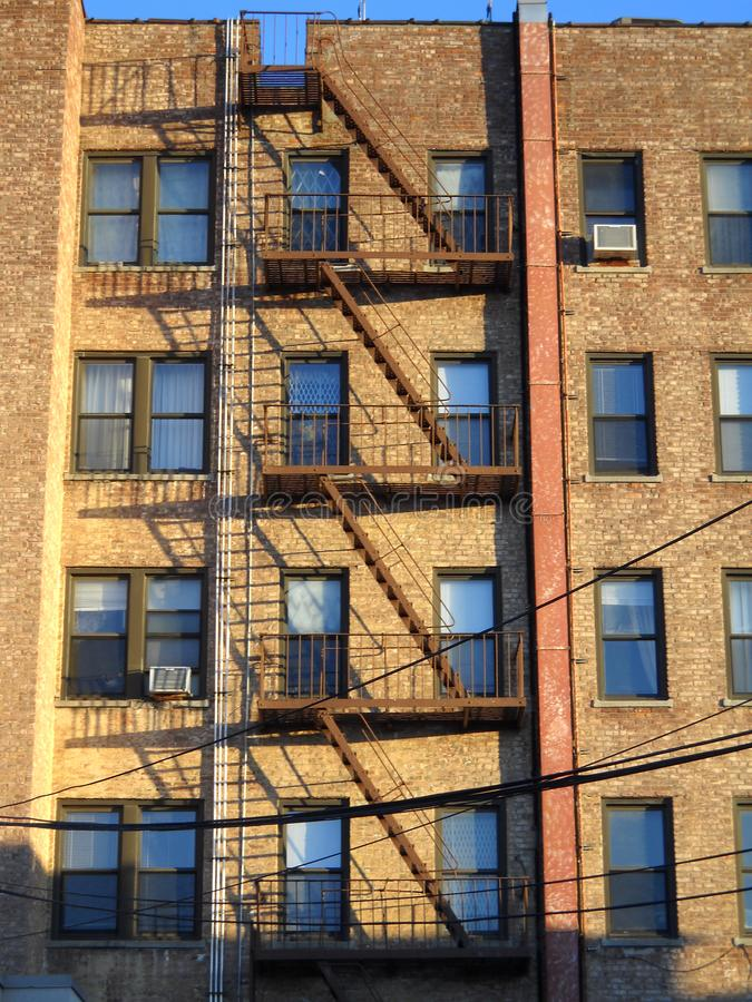 Queens, New York Apartment building. stock photography