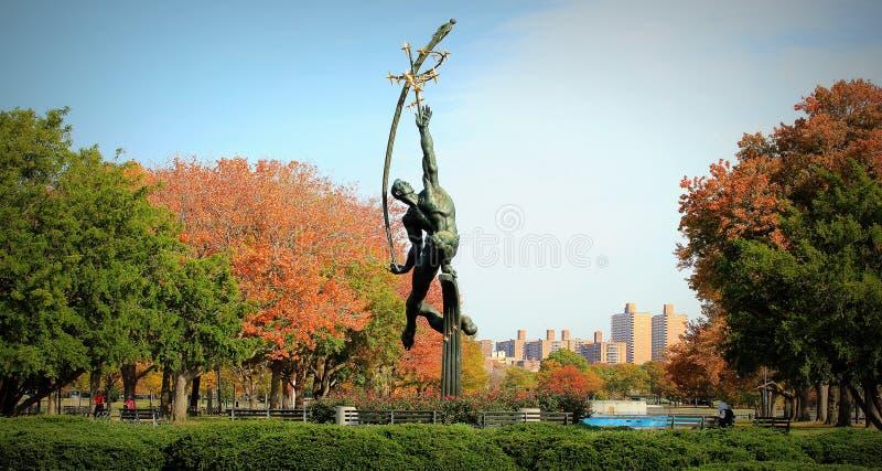 Queens Parkuje Nowy Jork zdjęcia stock