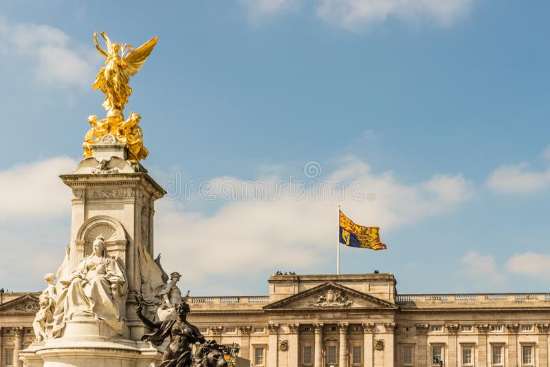 Queens urodziny Gromadzi się Colour fotografia royalty free