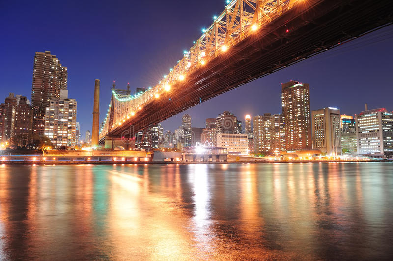 Download Queensboro Bridge And Manhattan Stock Photo - Image: 22974588