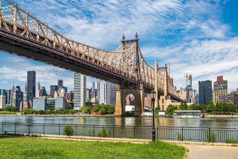 Queensboro bro, NYC royaltyfri fotografi