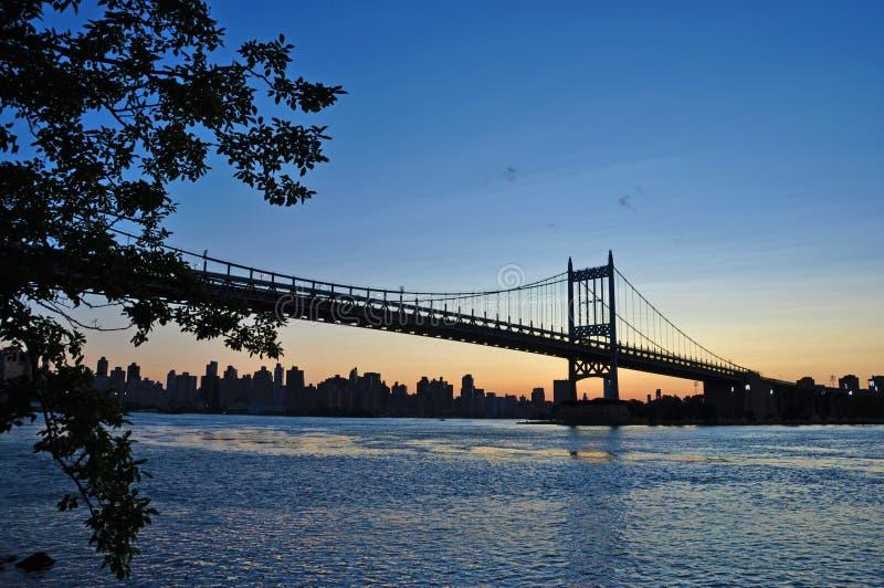 Queensborobrug, Queens, de Stad van New York royalty-vrije stock foto