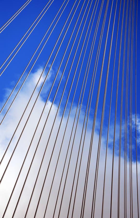 Queensferry过桥细节 库存照片