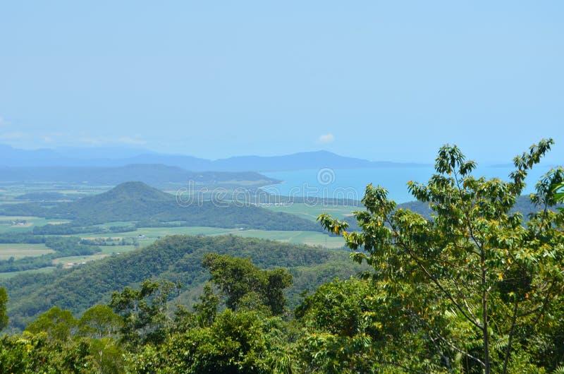 Queensland krajobraz, Australia obraz stock
