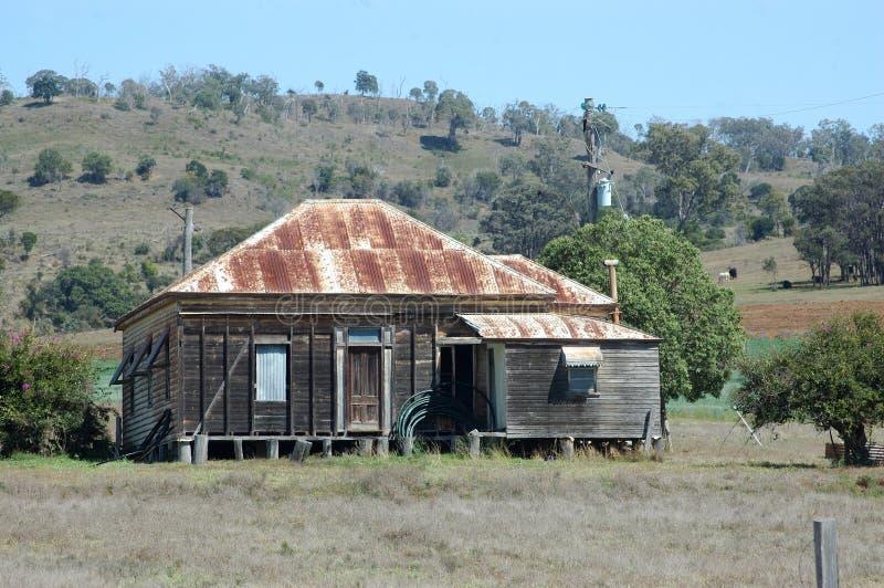 Queensland lantbrukarhem royaltyfri foto