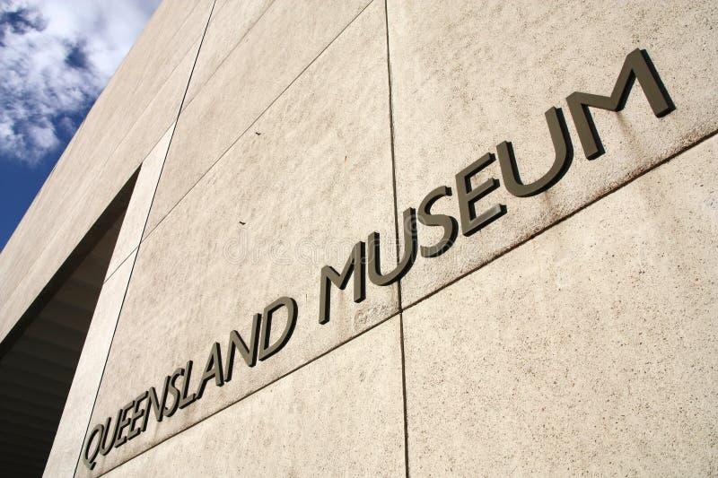 Queensland museum royaltyfria bilder