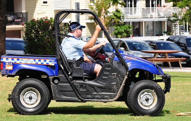 Download Queensland Police Patrolling Beach In 4wheel Drive Editorial Stock Image - Image: 26611294