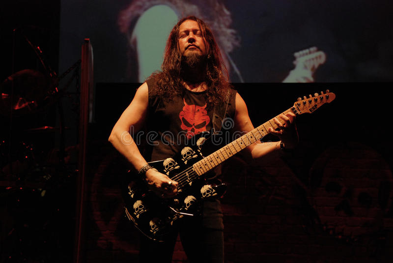 Queensryche, amerikanisches Rockband stockfotos