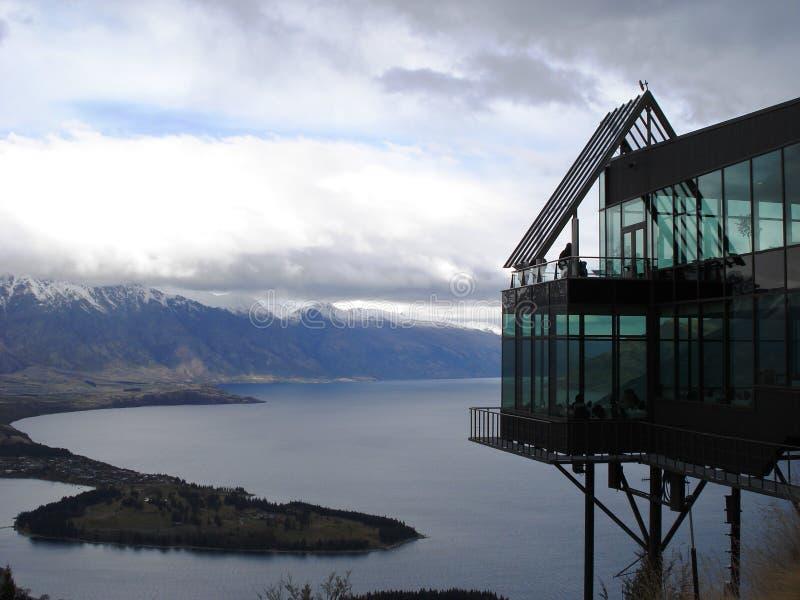Queensstad - Nieuw Zeeland stock foto