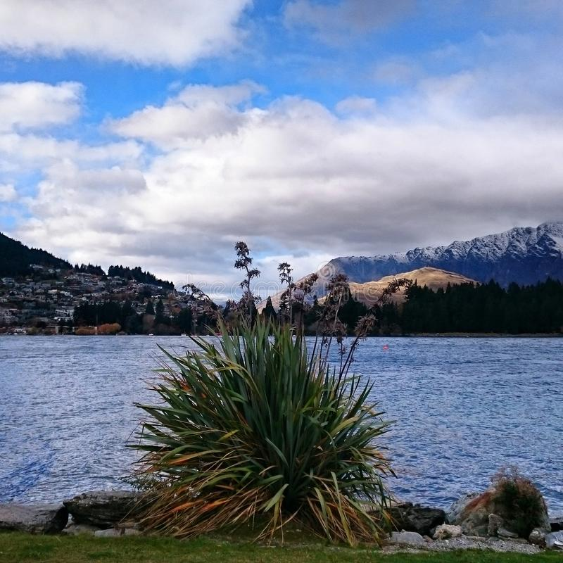 Queenstow étonnant Nouvelle Zélande photo stock