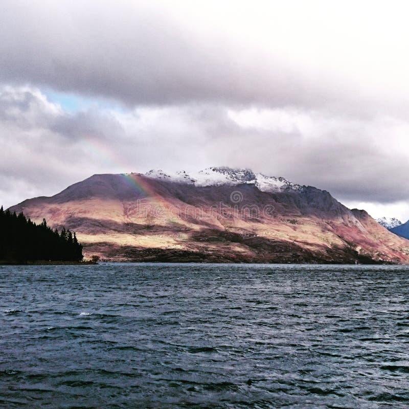 Queenstow étonnant Nouvelle Zélande photo libre de droits
