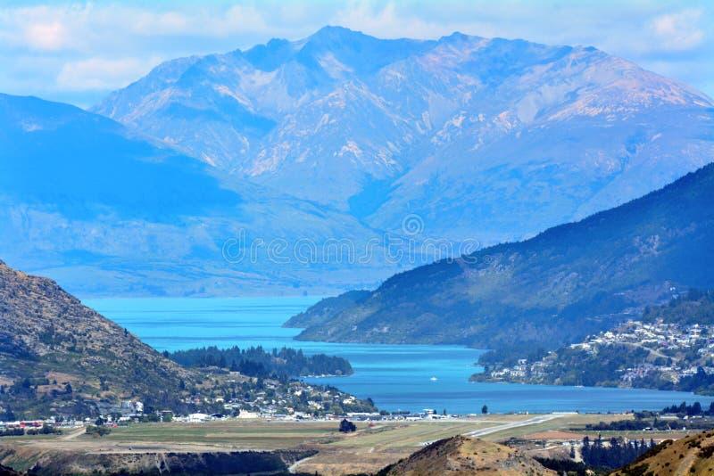Queenstown Новая Зеландия стоковая фотография rf