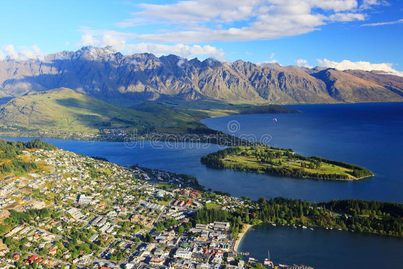 Queenstown royalty free stock photos