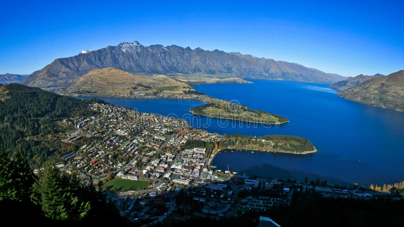 Queenstown stock images