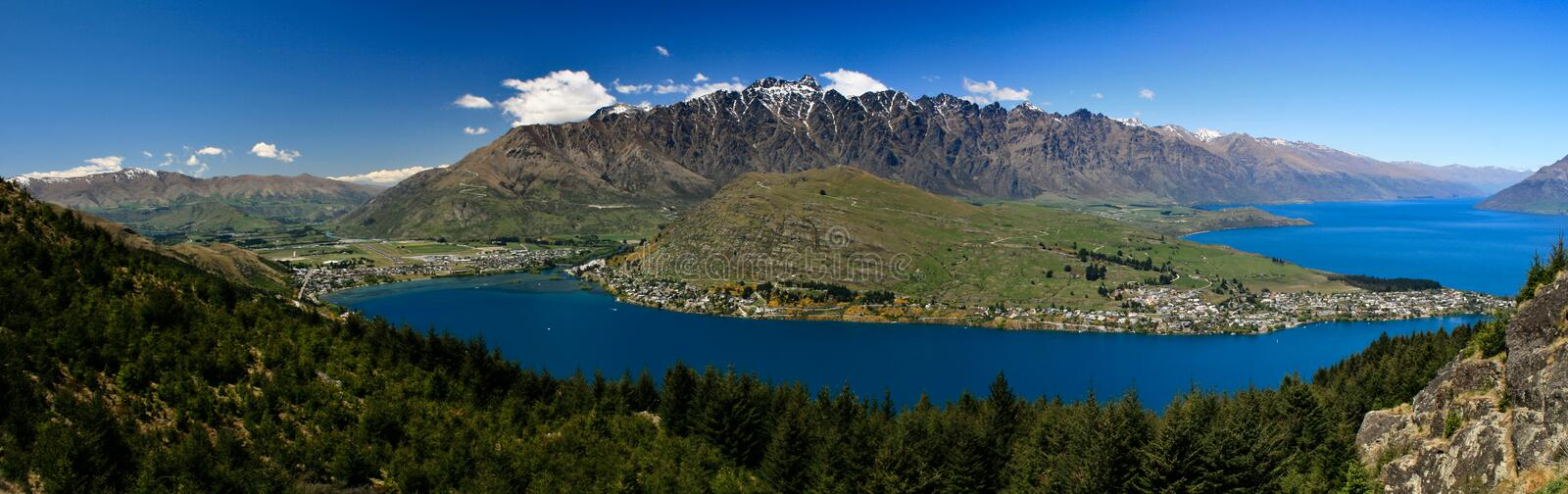 Queenstown royalty free stock photography