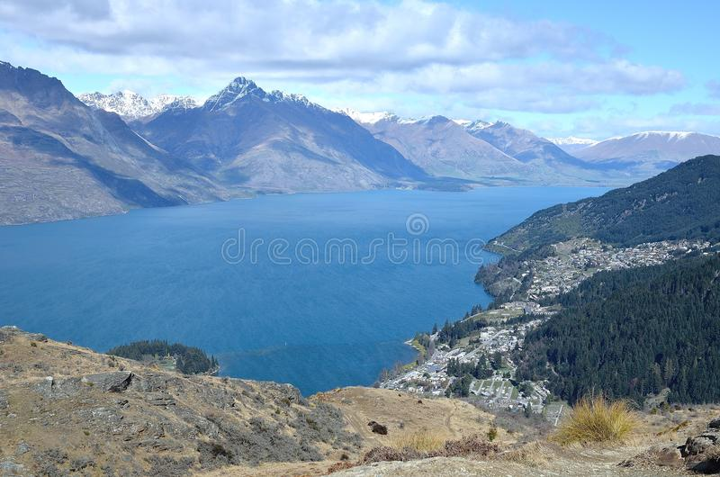 Download Queenstown stock photo. Image of lake, south, island - 40128634