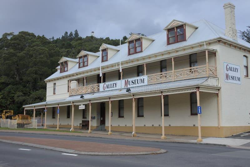 Queenstown-Museums-Galerie Tasmanien Australien lizenzfreies stockbild