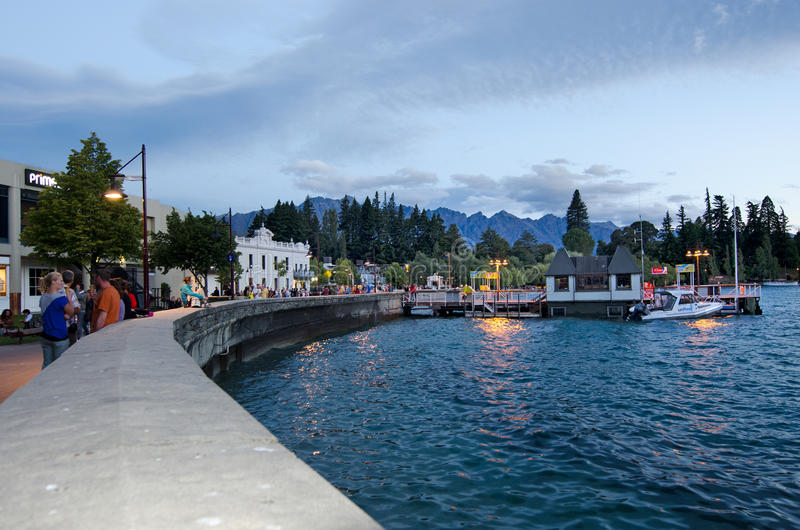 Queenstown New Zealand stock images