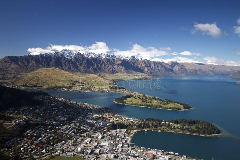 Queenstown Nouvelle Zélande photographie stock libre de droits
