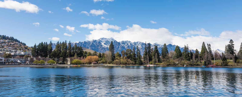 Queenstown, Nouvelle Zélande image stock