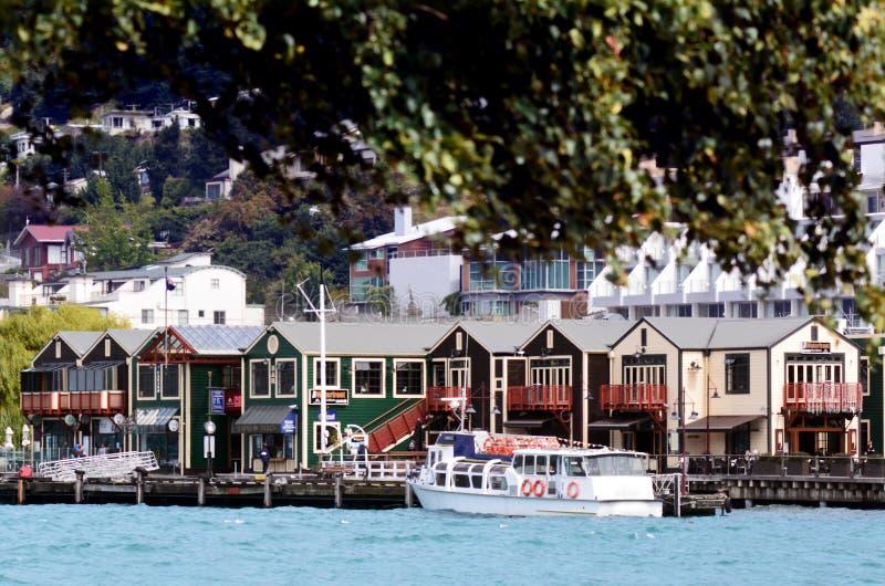 Queenstown Nowa Zelandia zdjęcie royalty free
