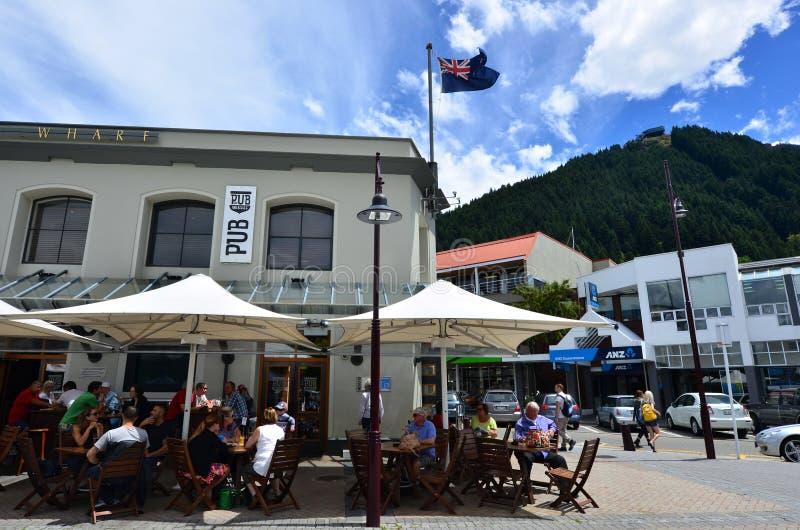 Queenstown Nueva Zelanda fotografía de archivo