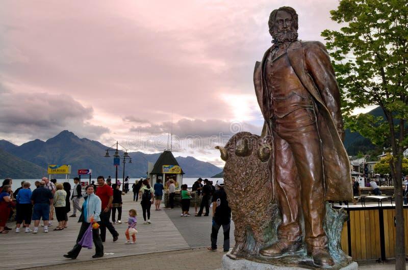 Queenstown Nueva Zelanda fotos de archivo libres de regalías