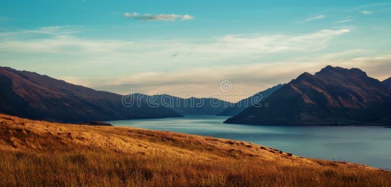 Queenstown Nuova Zelanda fotografie stock libere da diritti