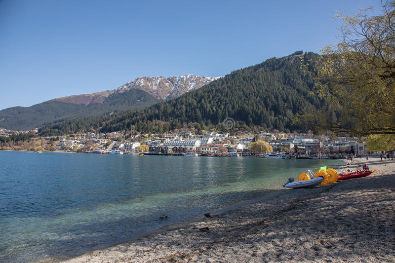 Queenstown, Nuova Zelanda fotografie stock