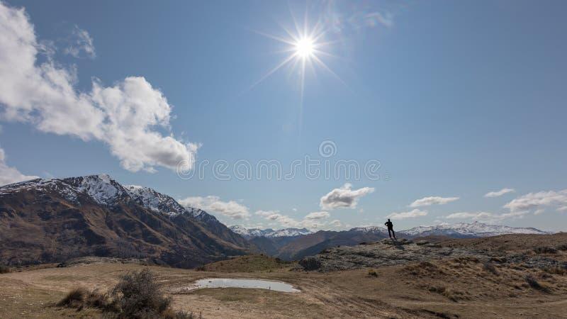 Queenstown, Nuova Zelanda fotografia stock