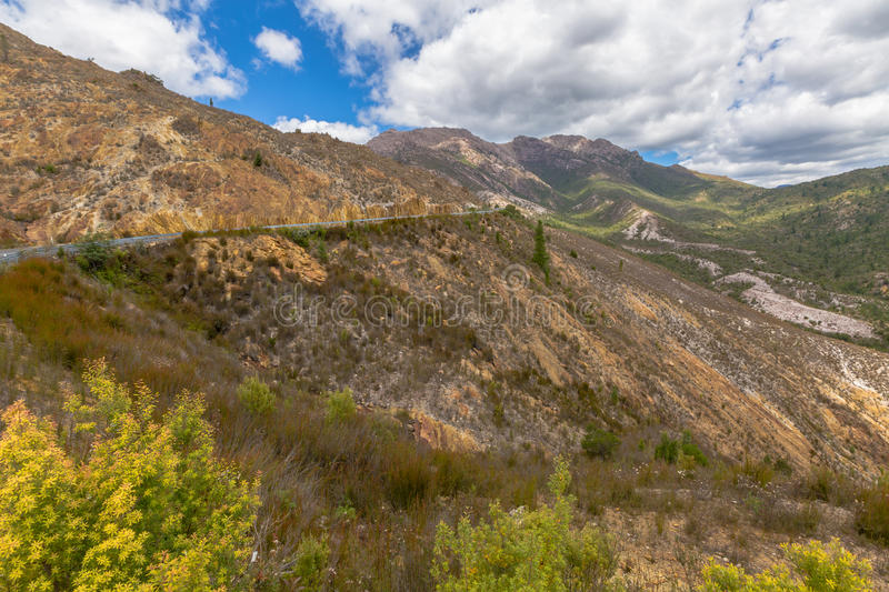 Queenstown Tasmania royalty free stock photography