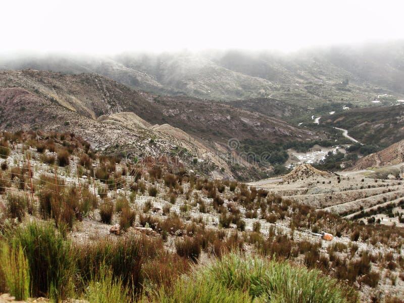 Queenstown Tasmanige stock afbeeldingen