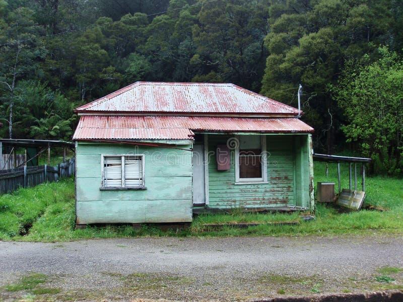 Queenstown Tasmanige stock foto