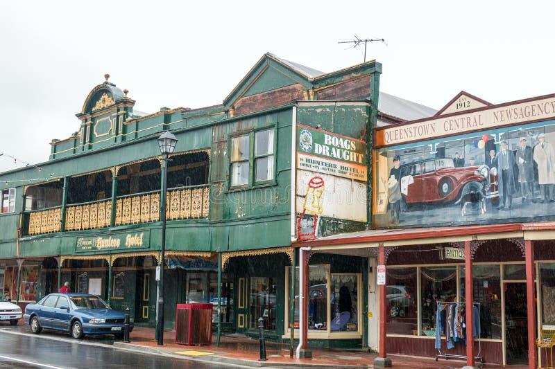 Queenstown, Tasmanige royalty-vrije stock afbeeldingen