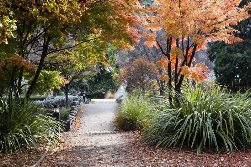 Queenstowntuinen, Nieuw Zeeland royalty-vrije stock foto's