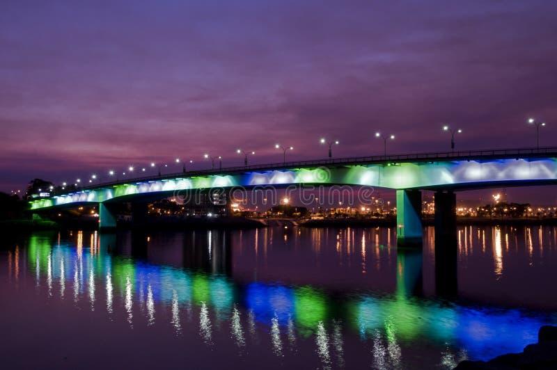 queensway bro fotografering för bildbyråer