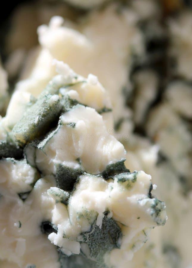 Queijo azul friável imagens de stock royalty free
