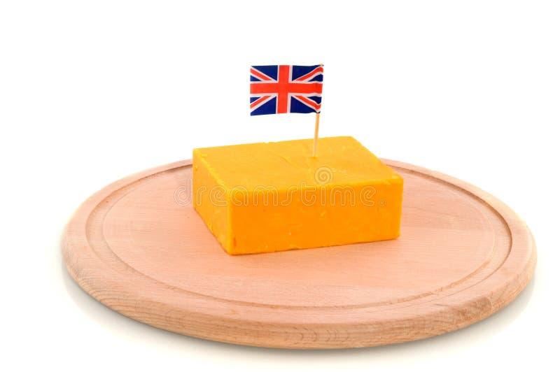 Queijo de queijo Cheddar fotografia de stock royalty free