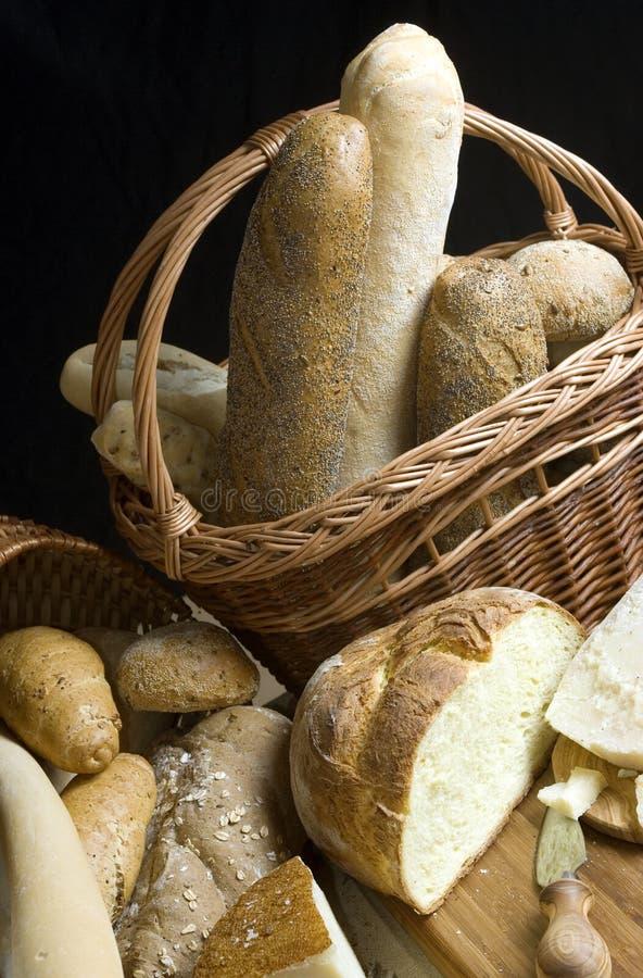Queijo e pão fotos de stock royalty free